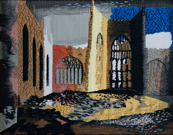 PIPER John C.H. (1903-1992) - 'Interior of Coventry Cathedral'.