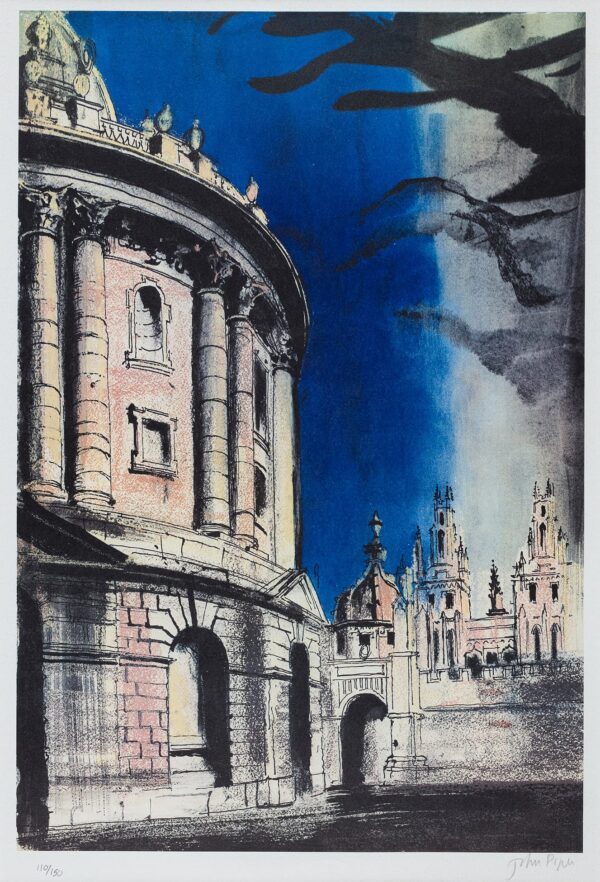 PIPER John O.M. (1903-1992) - 'Radcliffe Camera' (L.