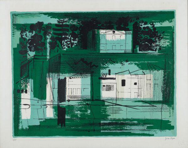 PIPER John O.M. (1903-1992) - 'Parthenay' (L.