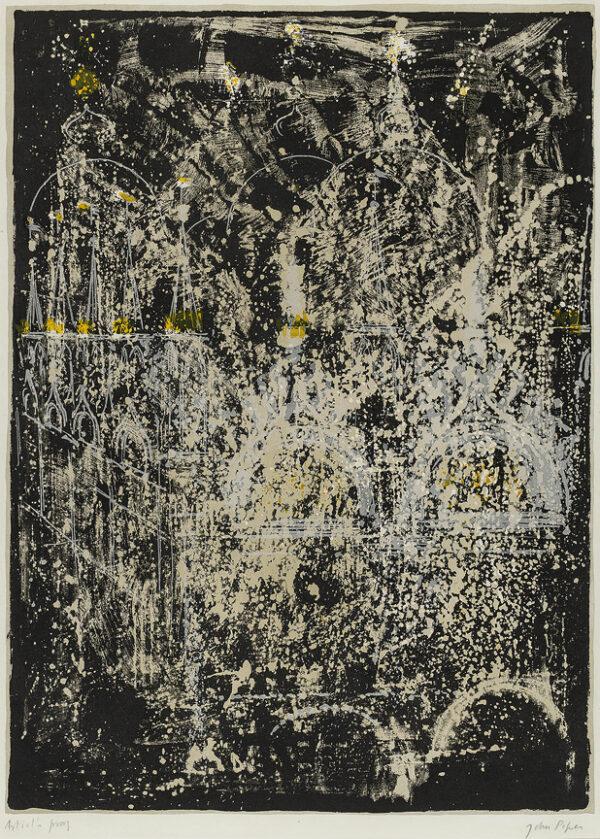 PIPER John (1903-1992) - 'San Marco' (L.