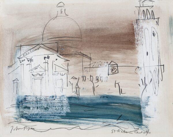 PIPER John CH (1903-1992) - 'San Pietro in Castello', Venice.