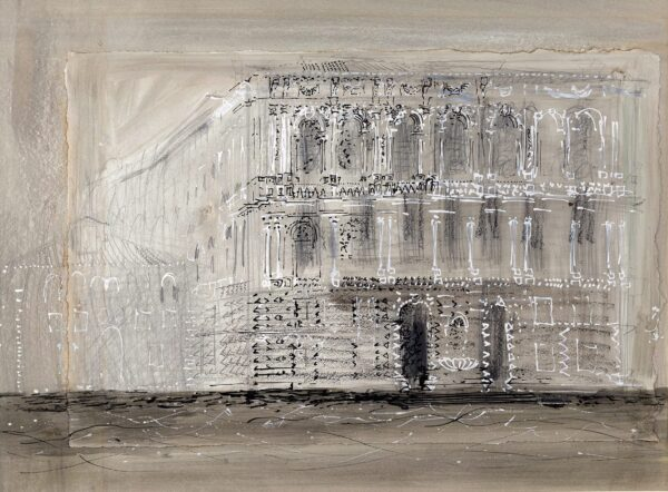 PIPER John CH (1903-1992) - Palazzo Pesaro, Venice.