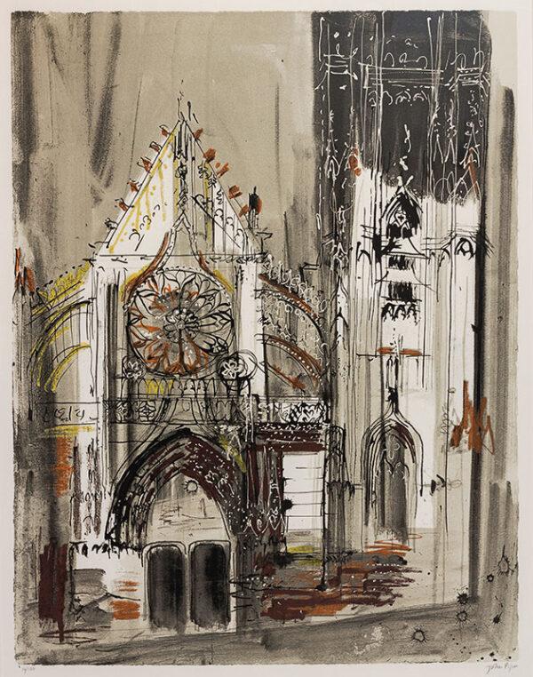 PIPER John C.H. (1903-1992) - 'Clamercy', Burgundy (L.