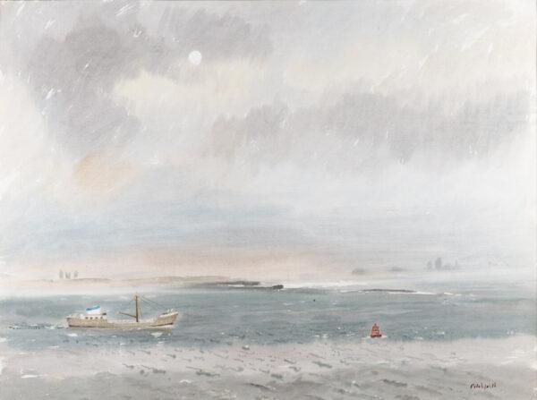 PITCHFORTH Vivian R.A. R.W.S (1895-1982) - 'River Dee'.
