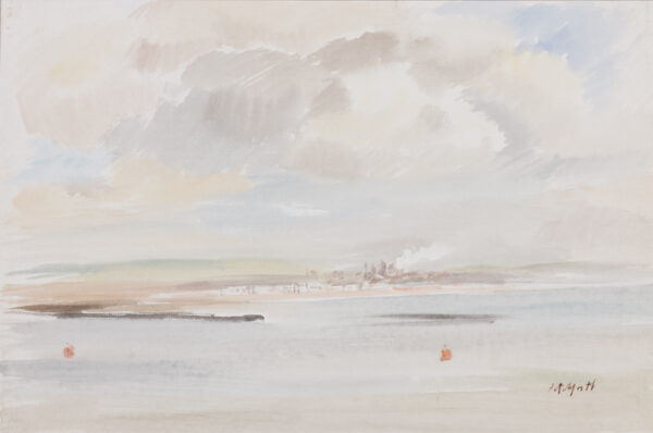PITCHFORTH Roland R.A. (1895-1982) - 'The River Tees'.