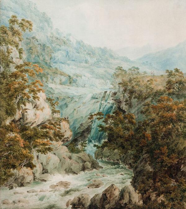 POCOCK Nicholas O.W.S. (1740-1821) - Wales.
