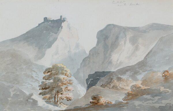 POCOCK Nicholas (1740-1821) - 'Castleton, near the Peak'.