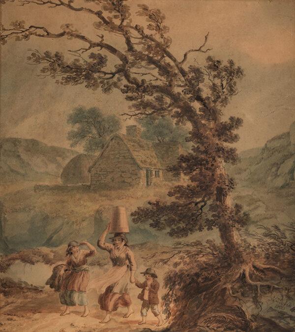 POCOCK Nicholas (1741-1821) - A coming storm.