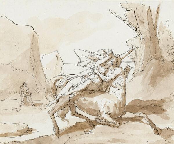 PODESTI Francesco (1800-1895) (Attributed to) - The Centaur.