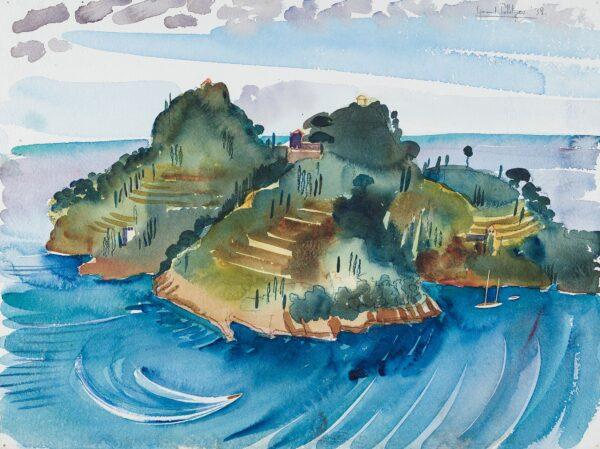 POLLIZER Sigmund (1913-1982) - 'Portofino'.