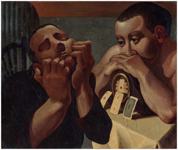 POVEY Edward (b.1951) - 'The Observer'.