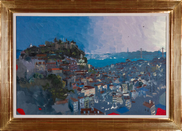 PROCKTOR Patrick R.A. (1936-2003) - 'Lisbon – Evening'.