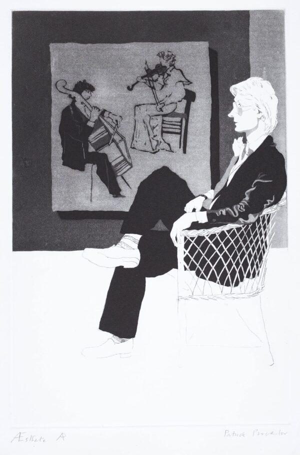 PROCKTOR Patrick R.A. (1936-2003) - 'Aesthete' (TS.