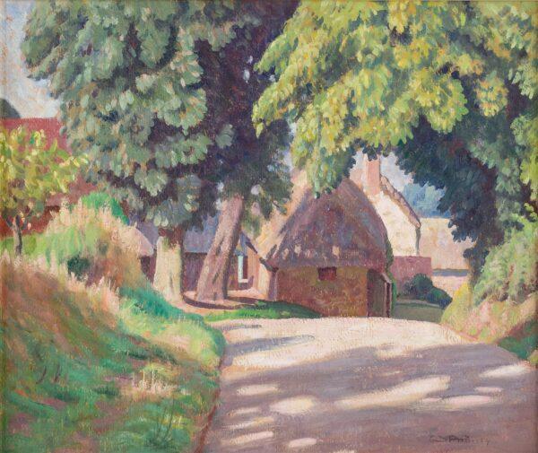 PROCTER Ernest A.R.A. (1885-1935) - 'Stafford', near Dorchester, Dorset.