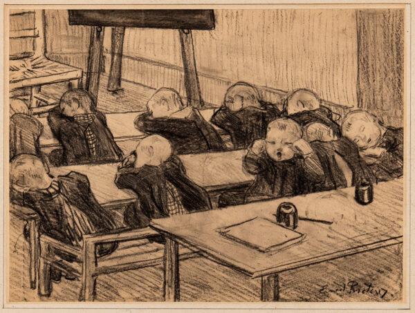 PROCTOR Ernest A.R.A. (1886-1935) - 'The Kindergarten.