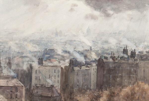 PROCTOR Ernest A.R.A. (1886-1935) - 'Paris from the Sacre Coeur'.