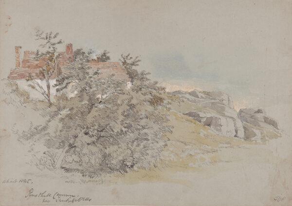 PROUT Samuel Gillespie (1822-1911) - 'Rusthall Common, near Tunbridge Wells'.