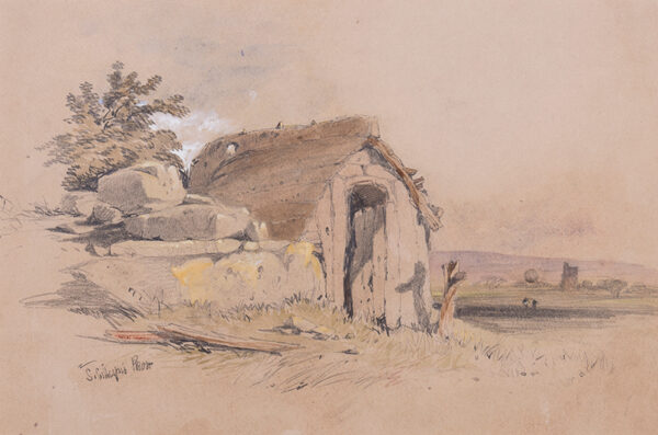 PROUT Samuel Gillespie (1822-1911) - A shelter.