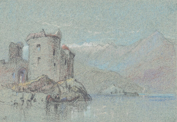 PROUT Samuel Gillespie (1822-1911) - Capriccio.