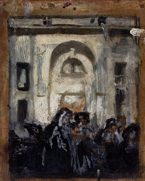 PRYDE James I.S. (1886-1941) - 'The Exit'.