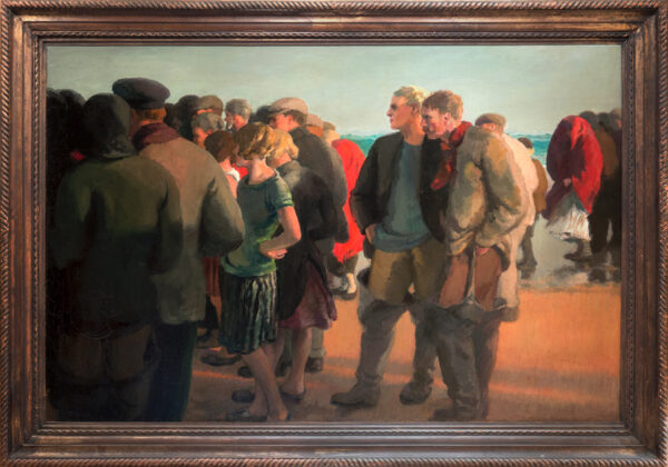 PRYSE Gerald Spencer (1882-1956) - The return of the lifeboat, Connemara.
