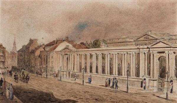 PUGIN Augustus Charles de O.W.S. (1762-1832) - The Screen, Carlton House.