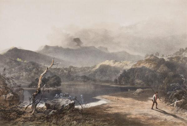 PYNE James baker (1800-1870) (After) - Rydal Water.