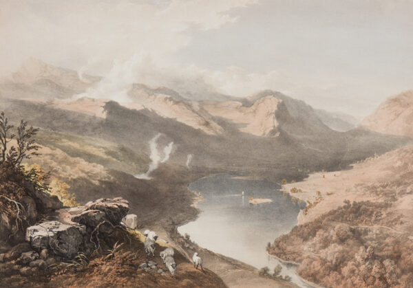 PYNE James baker (1800-1870) (After) - Grasmere from Loughrigg Fell.
