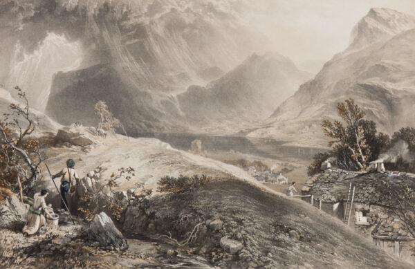 PYNE James baker (1800-1870) (After) - Buttermere.