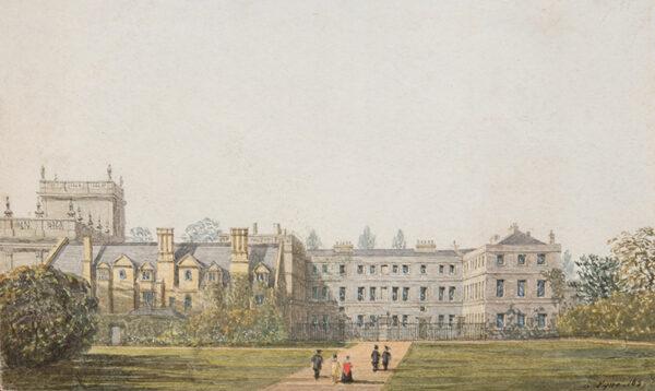 PYNE George (1800-1884) - 'Trinity College, Oxford'.