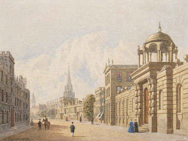 PYNE George (1800-1884) - 'Queen's College, Oxford.