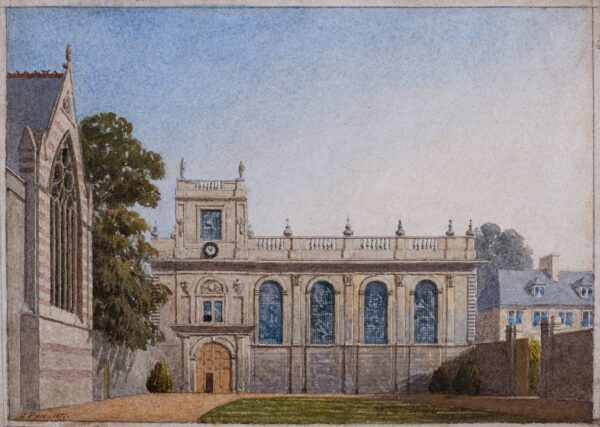PYNE George (1800-1885) - The Chapel, Trinity College, Oxford.