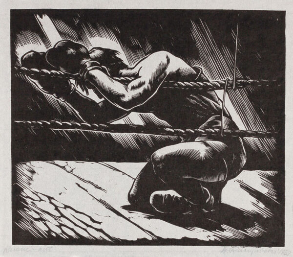 RACZINSKI Stanislav (1903-19820 - 'Knock Out'.