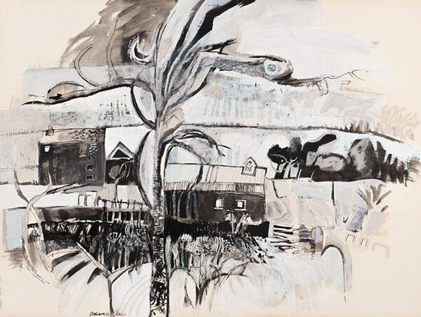 RAE Barbara R.A. (b.1943) - 'Orchard'.