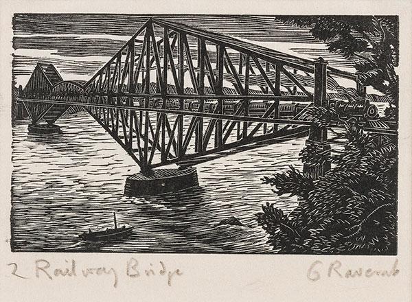 RAVERAT Gwen S.W.E. (1885-1957) - 'Railway Bridge' (SN294).
