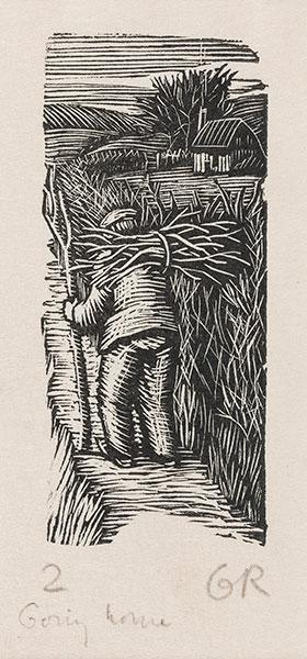 RAVERAT Gwen S.W.E. (1885-1957) - 'Going Home' (SN304).