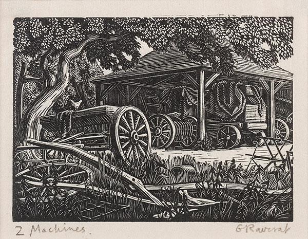 RAVERAT Gwen S.W.E. (1885-1957) - 'Machines' (SN311).