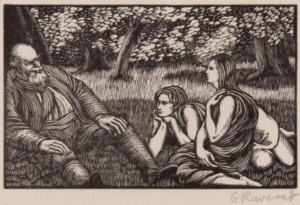 RAVERAT Gwen S.W.E. (1885-1957) - 'The Tale of Philetus' (SN.