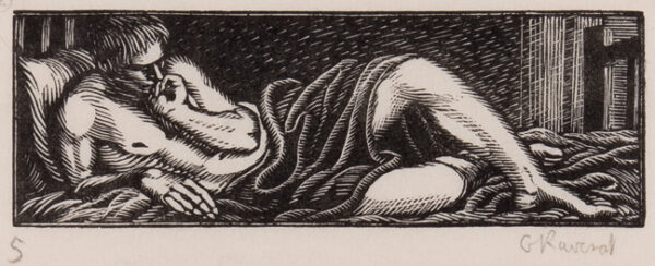 RAVERAT Gwen S.W.E. (1885-1957) - 'Daphnis in Love' (SN.