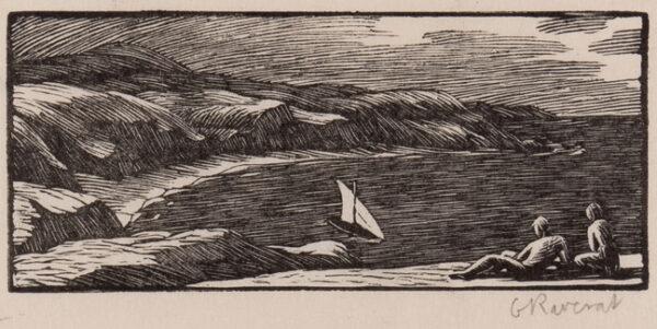 RAVERAT Gwen S.W.E. (1885-1957) - 'The Ship' (SN.
