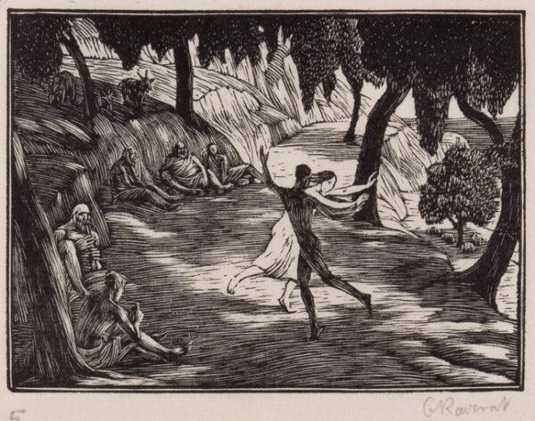RAVERAT Gwen S.W.E. (1885-1957) - 'The Dance' (SN.