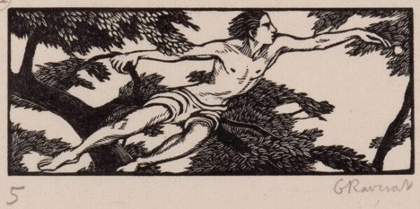 RAVERAT Gwen S.W.E. (1885-1957) - 'The Apple' (SN.