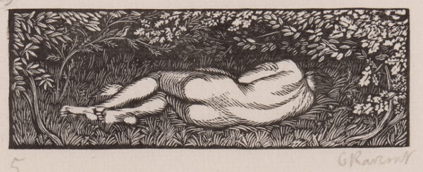 RAVERAT Gwen S.W.E. (1885-1957) - 'The End of the Story' (SN.