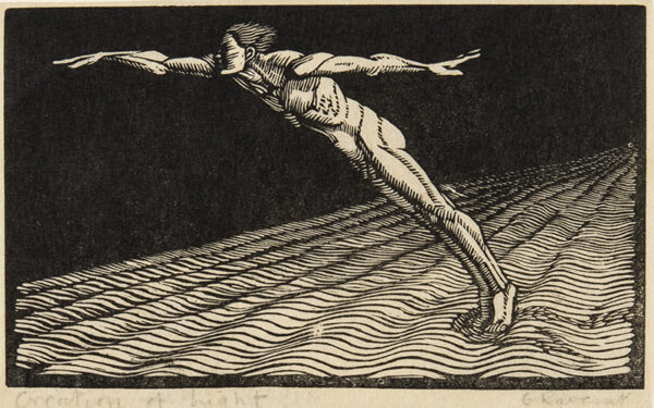RAVERAT Gwen S.W.E (1885-1957) - 'Creation of Light' (SN.