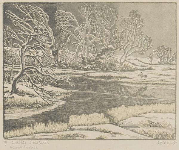 RAVERAT Gwen S.W.E. (1885-1957) - 'Childe Rowland' (SN.