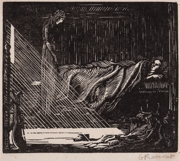 RAVERAT Gwen S.W.E. (1885-1957) - 'Margaret's Ghost' (SN.