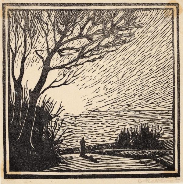 RAVERAT Gwen S.W.E. (1885-1957) - Spring Morning (SN61).