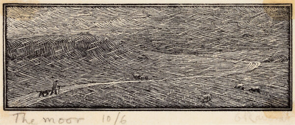 RAVERAT Gwen S.W.E. (1885-1957) - The Moor (SN73).