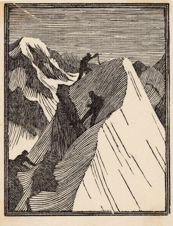 RAVERAT Gwen S.W.E. (1885-1957) - The Summit (SN75).
