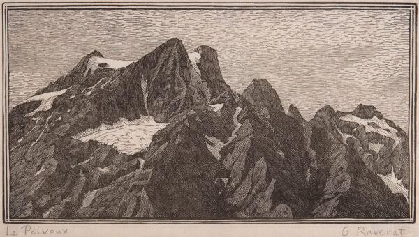 RAVERAT Gwen S.W.E. (1885-1957) - 'Le Pelvoux' (SN.